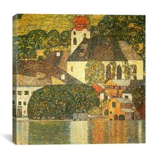 'Kirche in Unterach Am Attersee' by Gustav Klimt Painting Print on Canvas