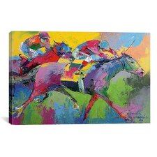 'Furlong' by Richard Wallich Painting Print on Canvas