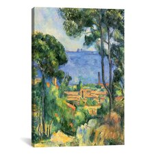'Forest of Trees' by Paul Cezanne Painting Print on Canvas