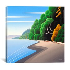 """Coastal Autumn"" by Ron Parker Graphic Art on Canvas"