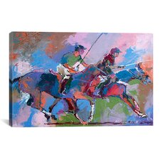 'Polo' by Richard Wallich Painting Print on Canvas