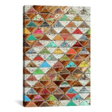 'Love Pattern' by Maximilian San Graphic Art on Wrapped Canvas