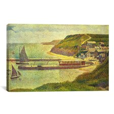 'Port-en-Bessin 1888' by Georges Seurat Painting Print on Canvas