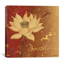 Lotus III from Sybil Shane Studio Canvas Wall Art