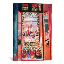 """""""Open Window at Collioure (1905)"""" by Henri Matisse Painting Print on Canvas"""