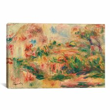 'Paysage 1919' by Pierre-Auguste Renoir Painting Print on Canvas