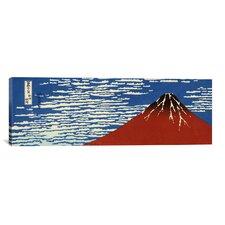 'Mount Fuji' by Katsushika Hokusai Painting Print on Canvas