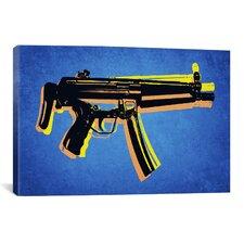 'MP5 SubMachine Gun' by Michael Tompsett Graphic Art on Canvas
