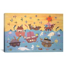 'Noah's Ark I' by David Sheskin Painting Print on Canvas