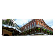 Maris Trad Wrought Iron Balcony New Orleans, Los Angeles Photographic Print on Canvas