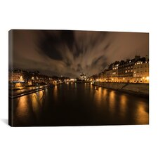 'Notre Dame' by Sebastien Lory Photographic Print on Canvas