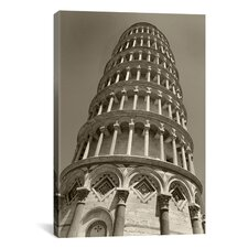 'Pisa Tower II' by Chris Bliss Photographic Print on Canvas