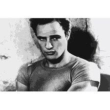 Movies Marlon Brando Photographic Print on Canvas