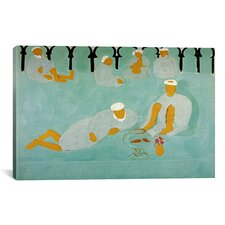 'Le Cafe Arabe or Moroccan Caffe (1913)' by Henri Matisse Painting Print on Canvas