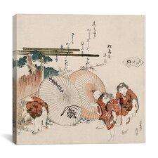 """Lost-Love Shell (Katashigai)"" Canvas Wall Art by Katsushika Hokusai"