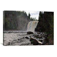 'Lake Superior 11' by Gordon Semmens Photographic Print on Canvas