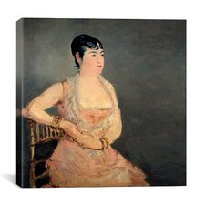 """""""Lady"""" Canvas Wall Art by Edouard Manet"""