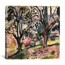 """Promenade Among the Olive Trees (1906)"" Canvas Wall Art by Henri Matisse"
