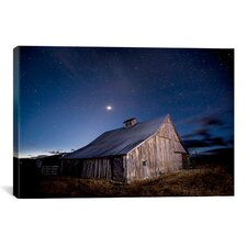 'Painted Barn' by Dan Ballard Photographic Print on Canvas