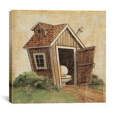 """""""Outhouse IV"""" Canvas Wall Art by John Zaccheo"""