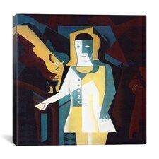 """""""Pierrot, 1919"""" Canvas Wall Art by Juan Gris"""