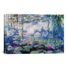 Nympheas by Claude Monet Painting Print on Canvas