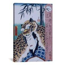 Japanese Art 'Nango Rikimaru' by Kunisada (Toyokuni) Painting Print on Canvas