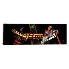 Panoramic Montage Las Vegas, Nevada Photographic Print on Canvas