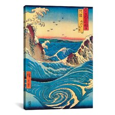 'Navaro Rapids, C.1855' by Utagawa Hiroshige I Painting Print on Canvas