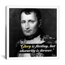 Napoleon Bonaparte Quote Canvas Wall Art