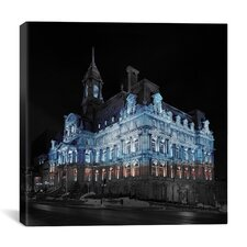 Montreal, Canada City Hall 2 Photographic Print on Canvas