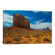 'Monument Valley 16' by Gordon Semmens Photographic Print on Canvas