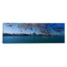Panoramic Jefferson Memorial, Potomac River, Washington, D.C Photographic Print on Canvas