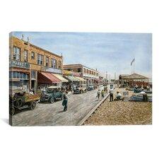 'Newport Beach, California 1926' by Stanton Manolakas Painting Print on Canvas