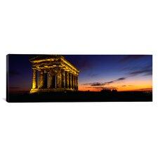 Panoramic Penshaw Monument, London, England Photographic Print on Canvas