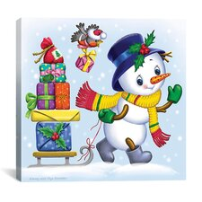 """""""New Year's Gifts"""" Canvas Wall Art by Olga and Aleksey Drozdov"""