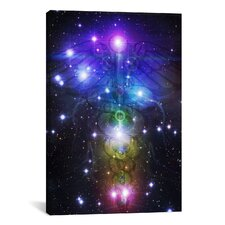 Religion and Spirituality 'New Age Astrology Religious' Graphic Art on Canvas