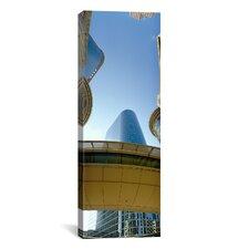 Panoramic Enron Center, Houston, Texas Photographic Print on Canvas