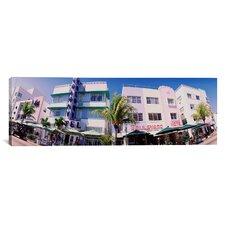 Panoramic Miami Beach, Florida Photographic Print on Canvas