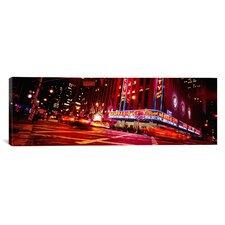 Panoramic Radio City Music Hall and Rockefeller Center, New York City Photographic Print on Canvas