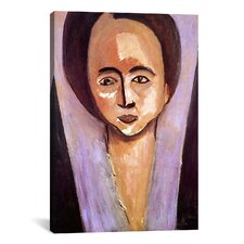 'Portrait of Sarah Stein' by Henri Matisse Painting Print on Canvas
