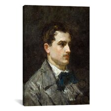 'Portrait of Antonio Proust' by Edouard Manet Painting Print on Canvas