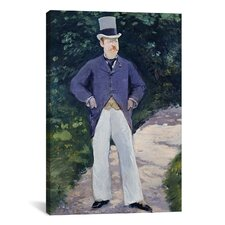 'Portrait of Monsieur Brun' by Edouard Manet Painting Print on Canvas