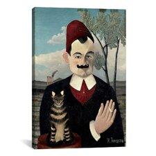 'Portrait De Pierre Loti (Portrait of Monsieur X) 1891' by Henri Rousseau Painting Print on Canvas