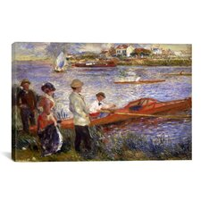 'Rowers at Chatou 1880-1881' by Pierre-Auguste Renoir Painting Print on Canvas