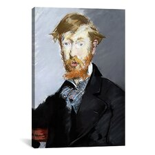 'Portrait of George Moore' by Edouard Manet Painting Print on Canvas