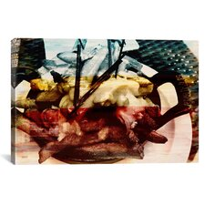 Canada Poutine Dish, Potates and Gravy Graphic Art on Canvas