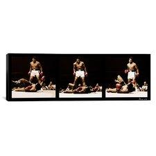 Muhammad Ali Vs. Sonny Liston, 1965 Photographic Print on Canvas in Black