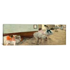 'The Dance Lesson' by Edgar Degas Painting Print on Canvas