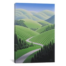 """Wine Country 2"" by Ron Parker Graphic Art on Canvas"